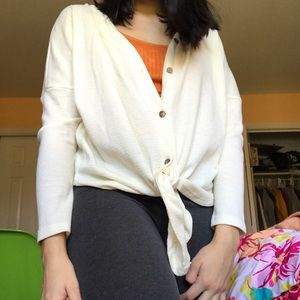Button-up thermal top